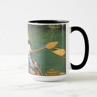 Oarsmen by Gustave Caillebotte, Vintage Fine Art Mug