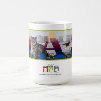 OAS Cats on Lake Merritt Mural Coffee Mug