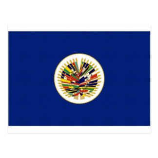 OAS Flag Postcard