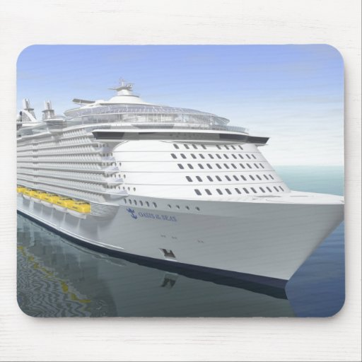 oasis4, Oasis of The Seas Mouse Pad