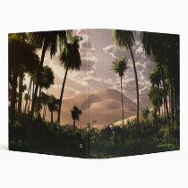 desert, oasis, palms, dunes, digital blasphemy, desktop wallpaper, Fichário com design gráfico personalizado
