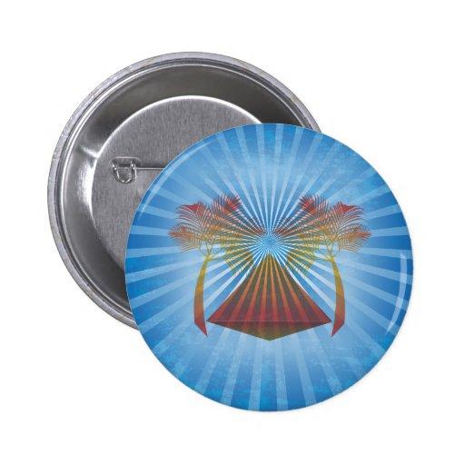 Oasis azul pin redondo 5 cm
