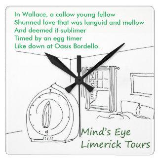 Oasis Bordello Clock