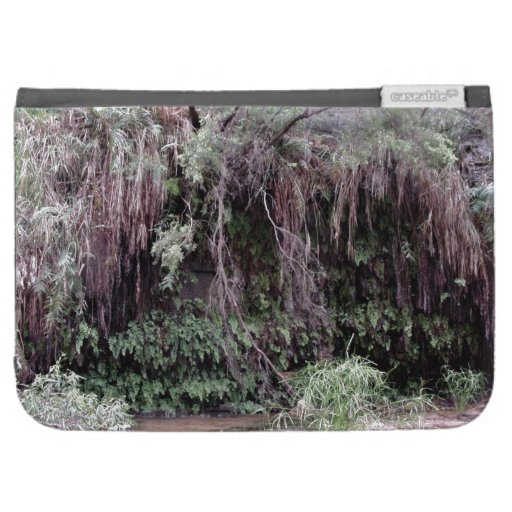 Oasis in the burning desert kindle case