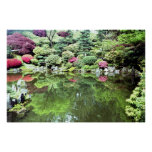 Oasis japonés impresiones