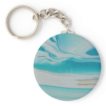 Beach Themed Oasis Keychain