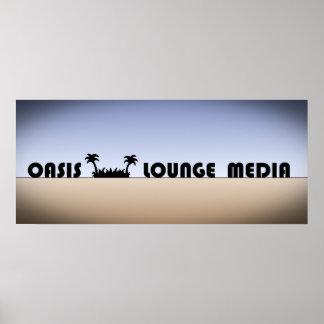 Oasis Lounge Media poster