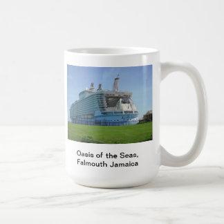 Oasis of the Seas, Falmouth Jamaica Coffee Mug