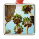Oasis Palms at Joshua Tree National Park Metal Ornament