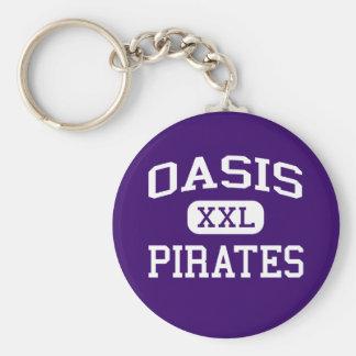 Oasis - piratas - High School secundaria - coral l Llavero Personalizado