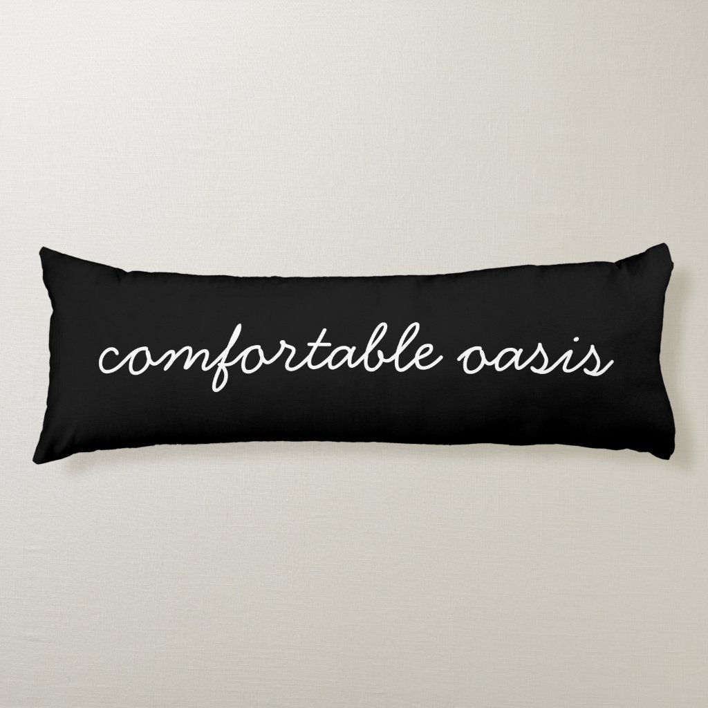'Oasis' Polyester Body Pillow