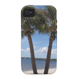 Oasis sombrío #2 vibe iPhone 4 carcasa