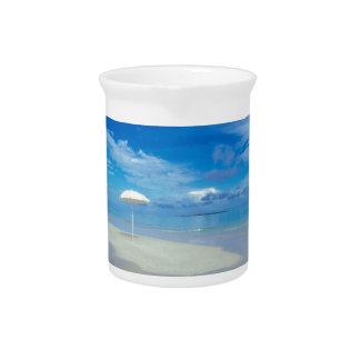 Oasis tropical del agua jarra