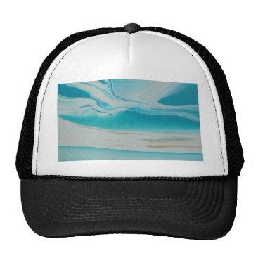 Beach Themed Oasis Trucker Hat