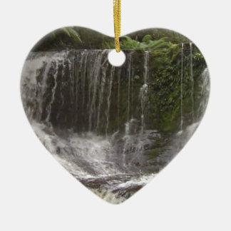 Oasis Waterfalls in Tasmania south of Australia Ceramic Ornament