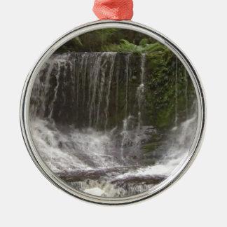 Oasis Waterfalls in Tasmania south of Australia Metal Ornament