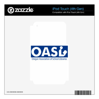 OASL Logo Device Skin iPod Touch 4G Decal