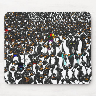 OAT and the penguins 2 MOUSE PAD
