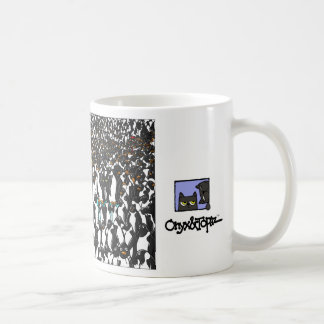OAT and the penguins 2 Classic White Coffee Mug