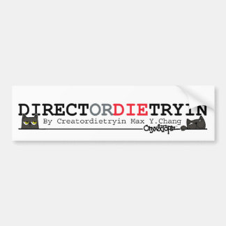 OAT DIRECTordie Bumper Sticker