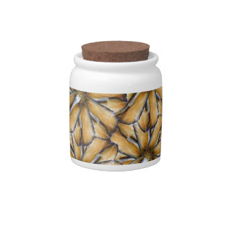 Oat flakes candy jars