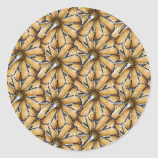 Oat flakes classic round sticker