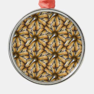 Oat flakes metal ornament