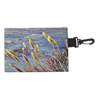Oat Grass & Waves Accessories Bag
