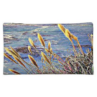 Oat Grass & Waves Makeup Bag
