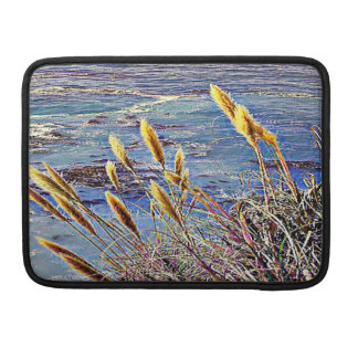 Oat Grass & Waves Sleeve For MacBooks