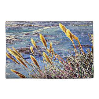 Oat Grass & Waves Travel Accessories Bag