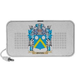 Oates Coat of Arms - Family Crest Mp3 Speakers