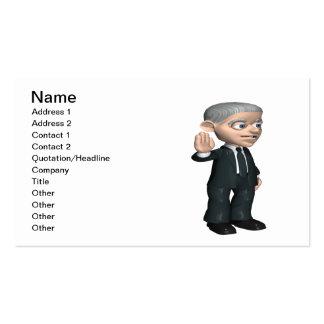 Oath Business Card
