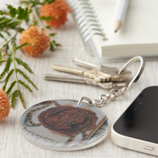 Oath of Hippocrates Keychain