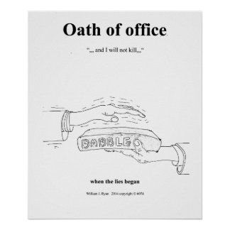 Oath of Office Poster