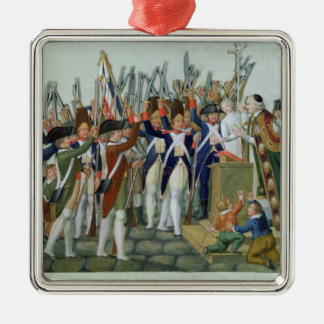 Oath of the Districts, February 1790 Metal Ornament