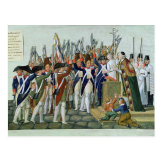 Oath of the Districts, February 1790 Postcard