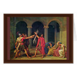 Oath Of The Horatii By David Jacques-Louis (Best Q Greeting Card