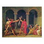 Oath Of The Horatii By David Jacques-Louis (Best Q 4.25x5.5 Paper Invitation Card