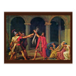 Oath Of The Horatii By David Jacques-Louis (Best Q Postcard