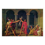 Oath Of The Horatii By David Jacques-Louis (Best Q Poster