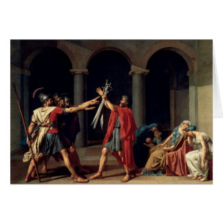 Oath of the Horatii Card