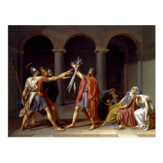 Oath of the Horatii Postcard