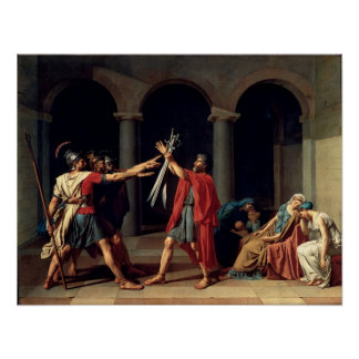 Oath of the Horatii Poster