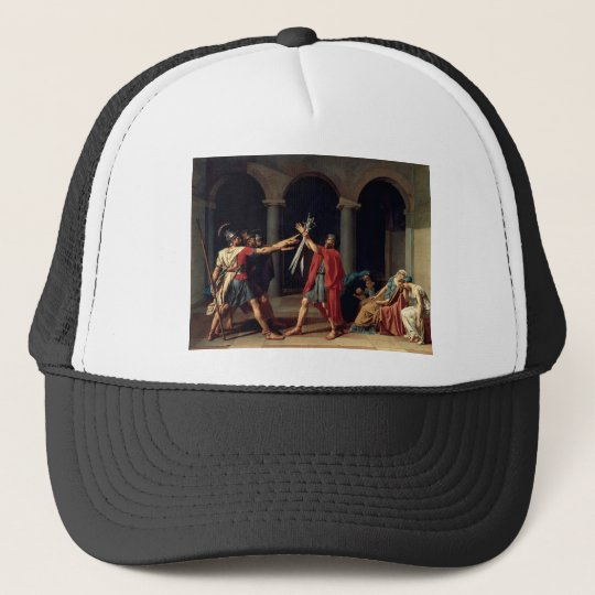 Oath of the Horatii Trucker Hat