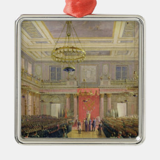 Oath of the Successor to the Throne Alexander II Metal Ornament