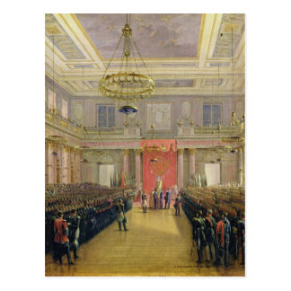 Oath of the Successor to the Throne Alexander II Postcard