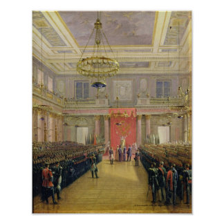 Oath of the Successor to the Throne Alexander II Posters