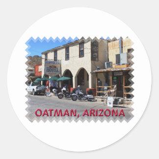 Oatman Arizona Classic Round Sticker