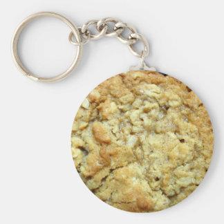 Oatmeal cookie keychain